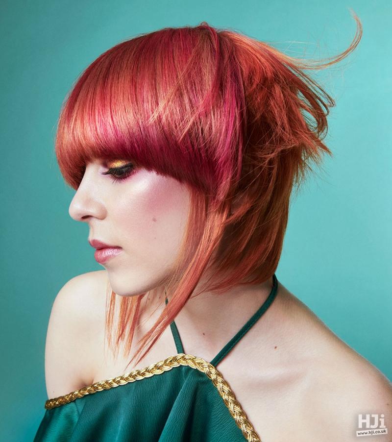Mid-length, creative colour