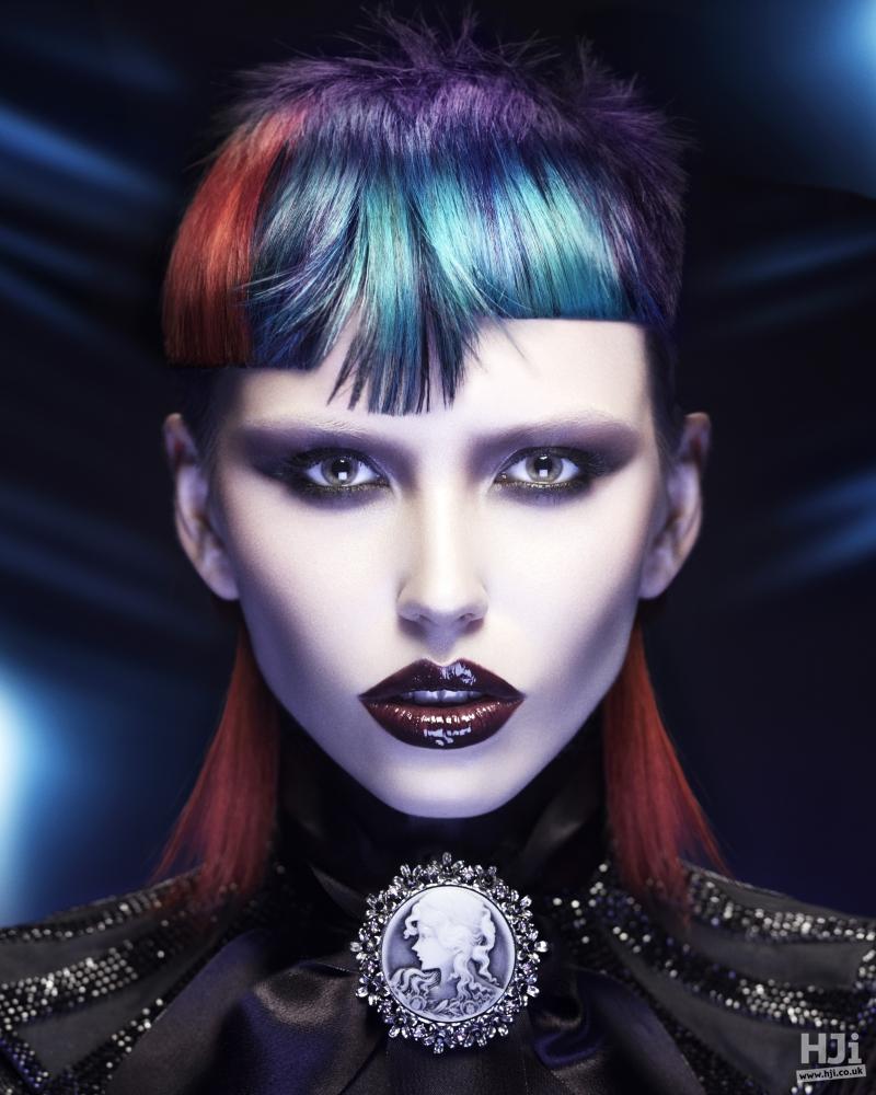 Creative colour and asymmetric fringe