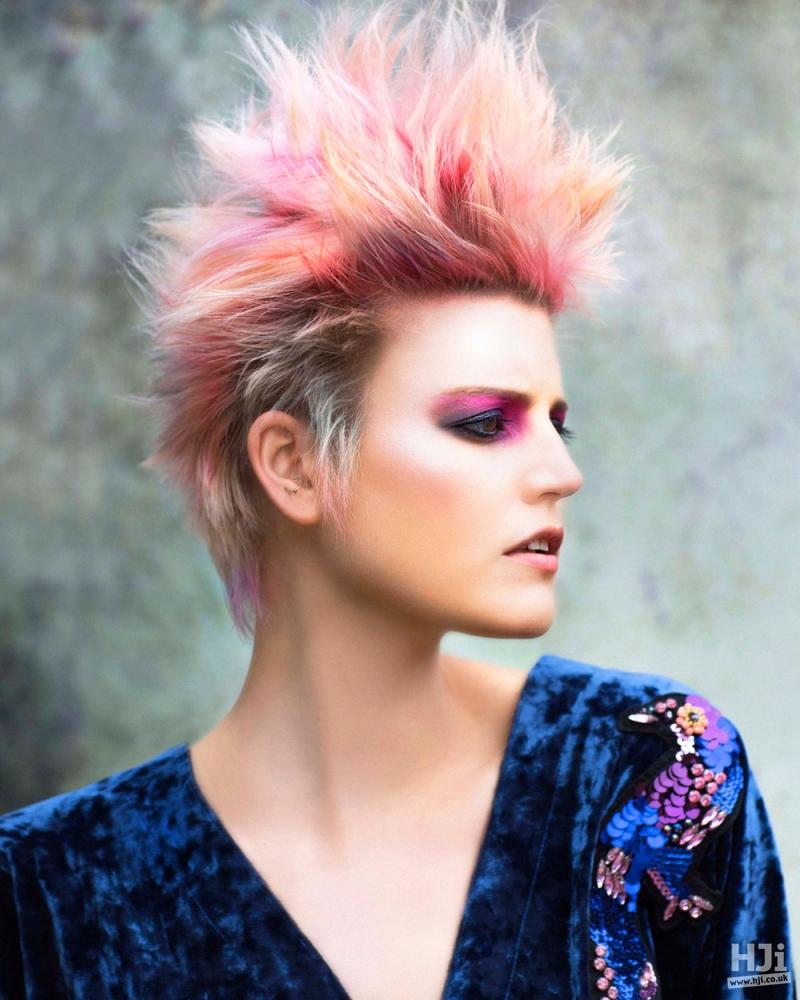Spiky creative colour