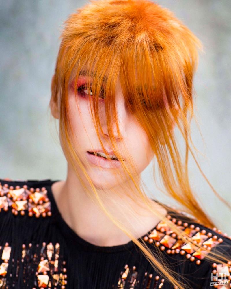 Redhead veil
