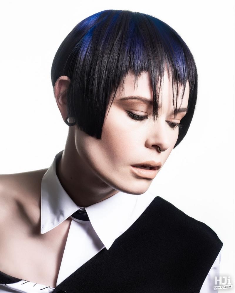 Creative colour short hair