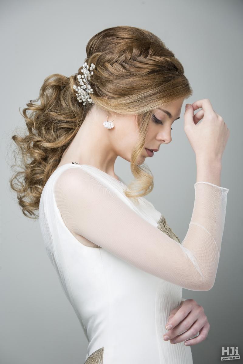Bridal Braided Ponytail
