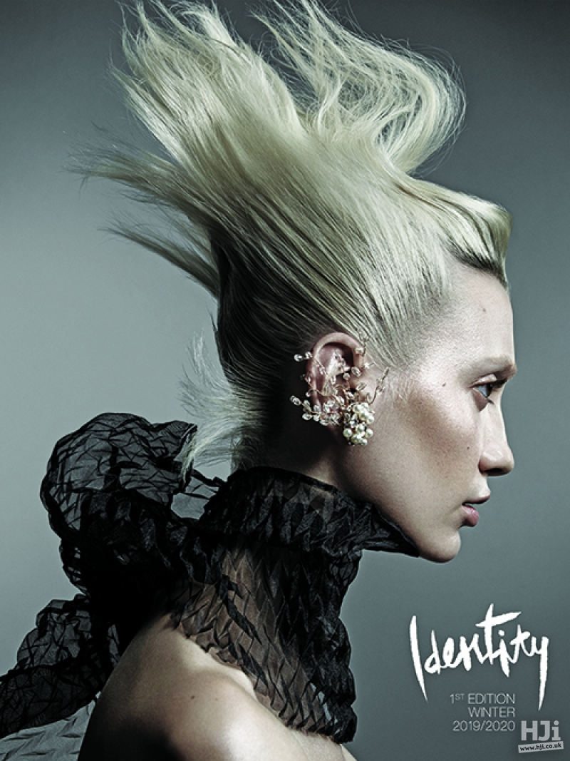 Identity by Cos Sakkas - Blonde updo