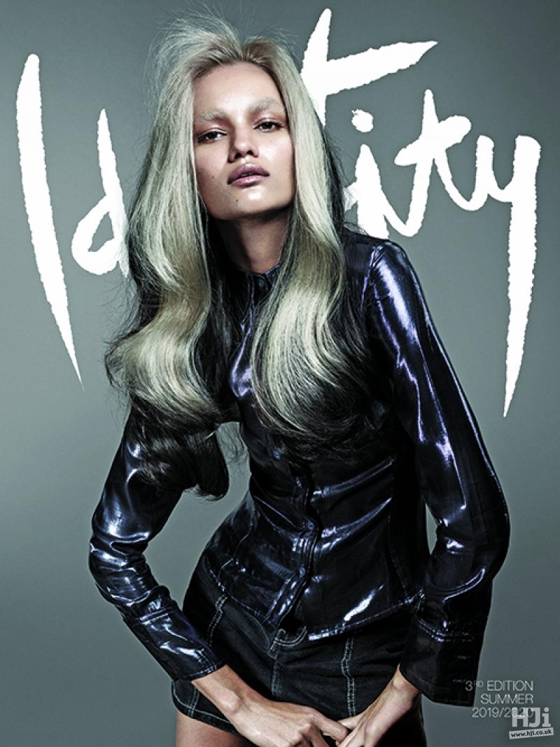 Identity by Cos Sakkas - Long blonde dual tone look