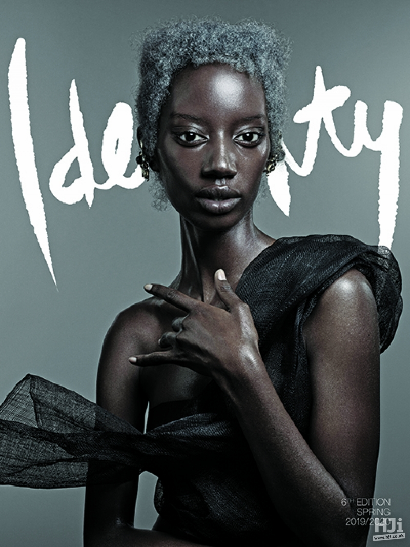 Identity by Cos Sakkas - Grey Afro look