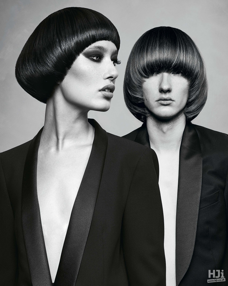 Sleek couple cuts