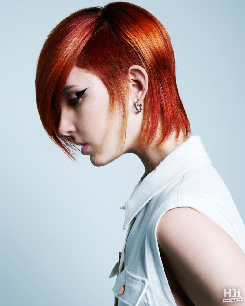 Vibrant and contemporary cut
