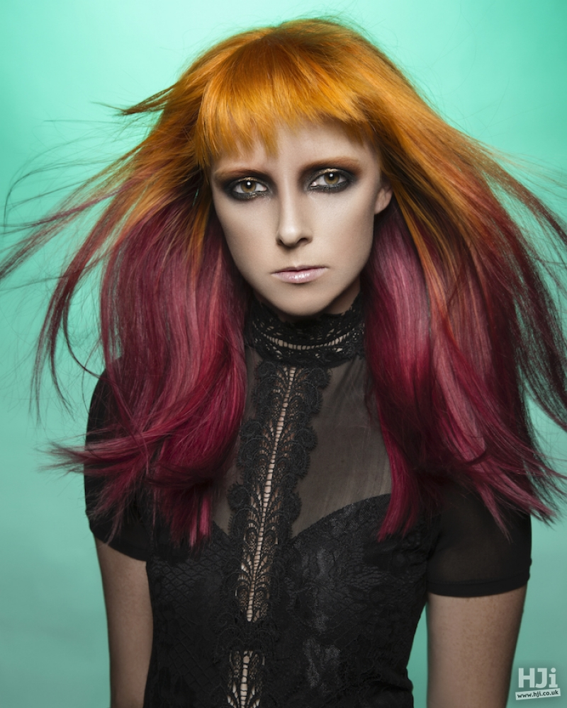 See Some Of Our Latest Hairstyles For Plum Hair