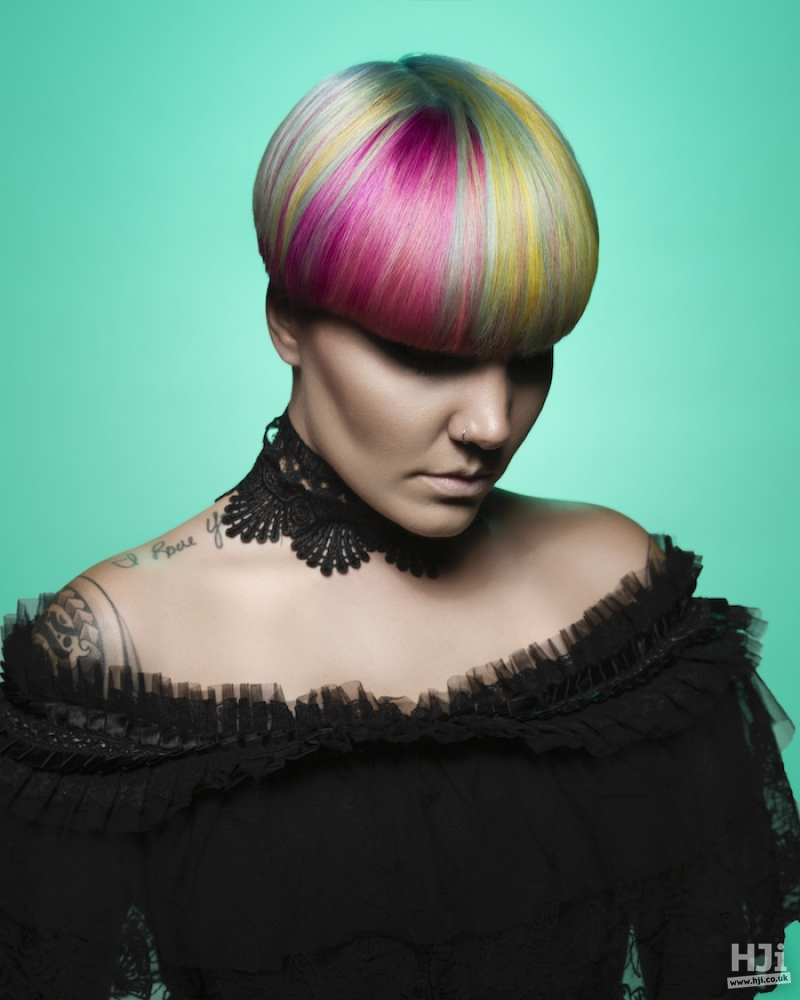 Creative colour crop with full fringe