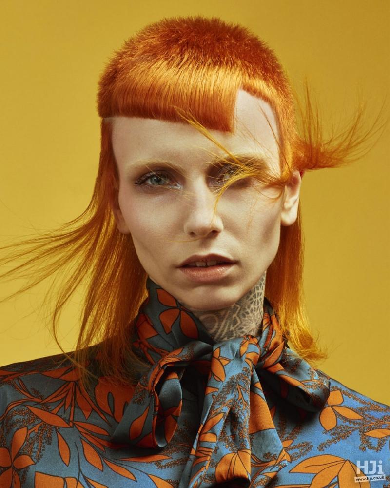 Redhead mullet