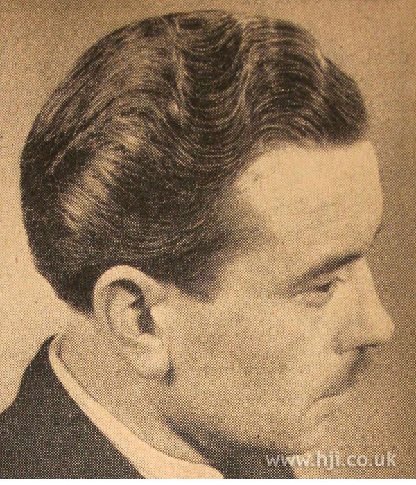 1950 Men Waves Hairstyle Hji