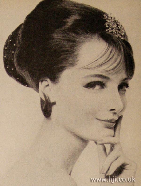 1963 Updo Net Hairstyle Hji