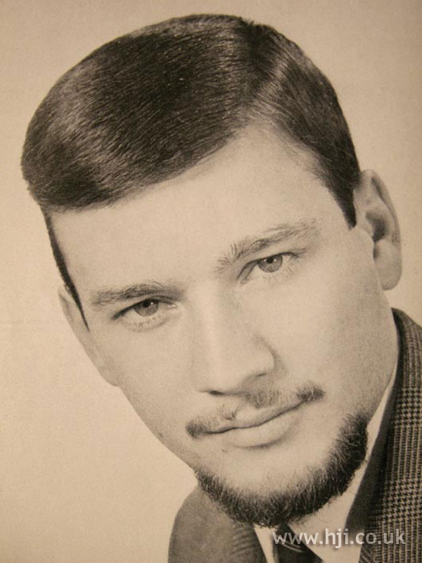 mans hair styles 1966 beard hairstyle hji 1971