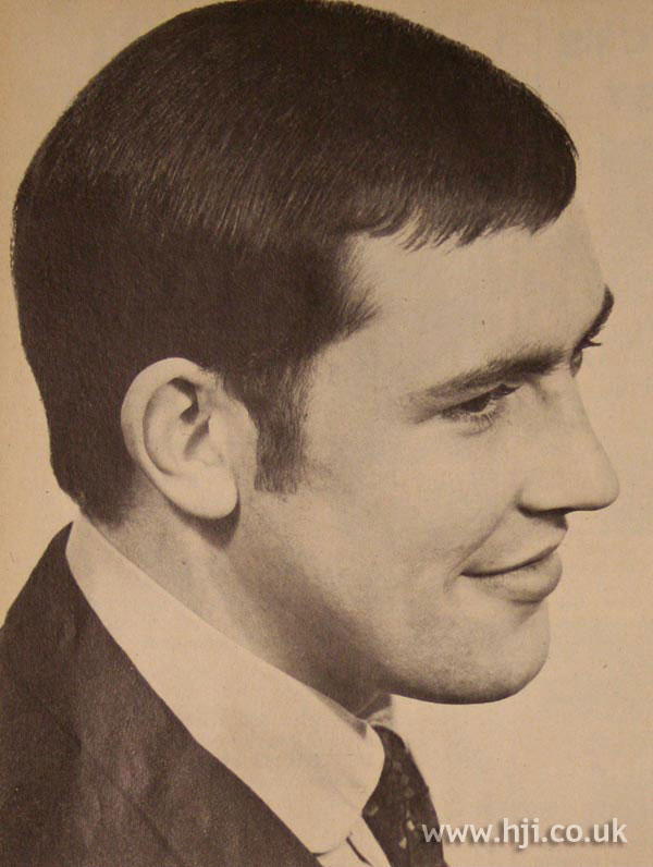 1967 Men Neat Hairstyle Hji