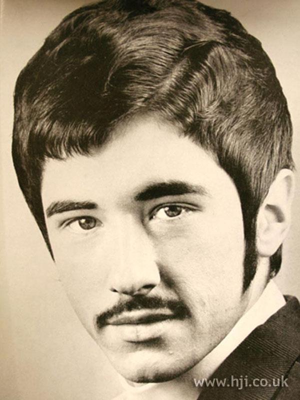 1969 Sideburns Men Hairstyle Hji