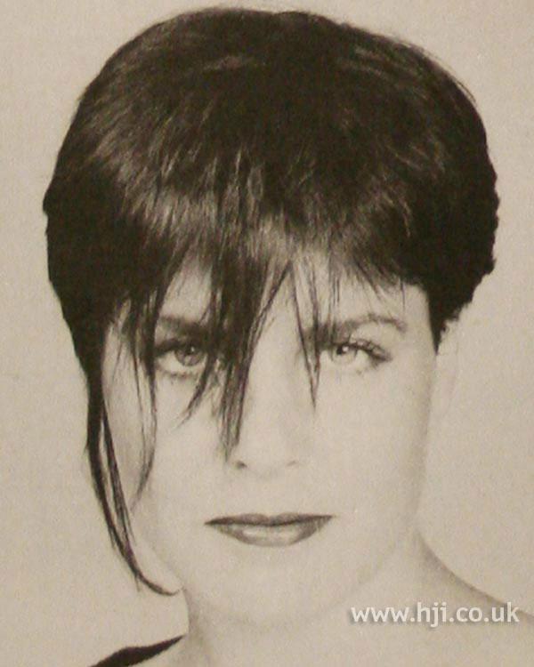 1984 short crop hairstyle