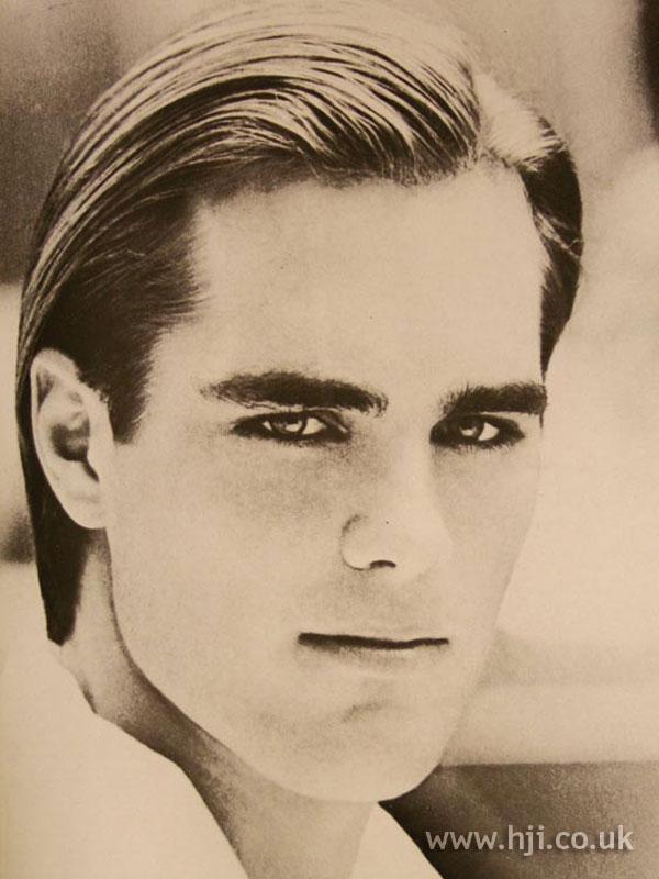 1986 men slick hairstyle