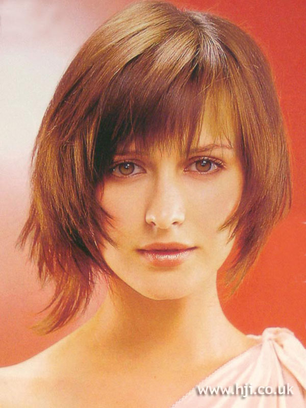 2002 asymmetric bob hairstyle