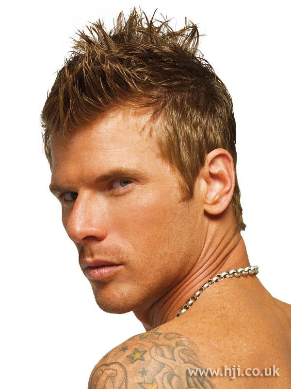 Мужские стрижки на короткие волосы для круглого лица