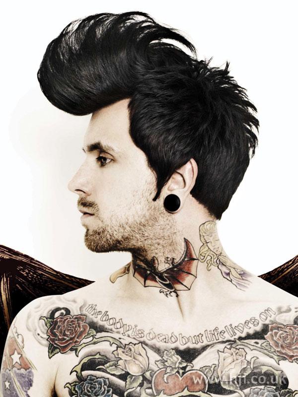 2008 Men Vampire Hairstyle Hji