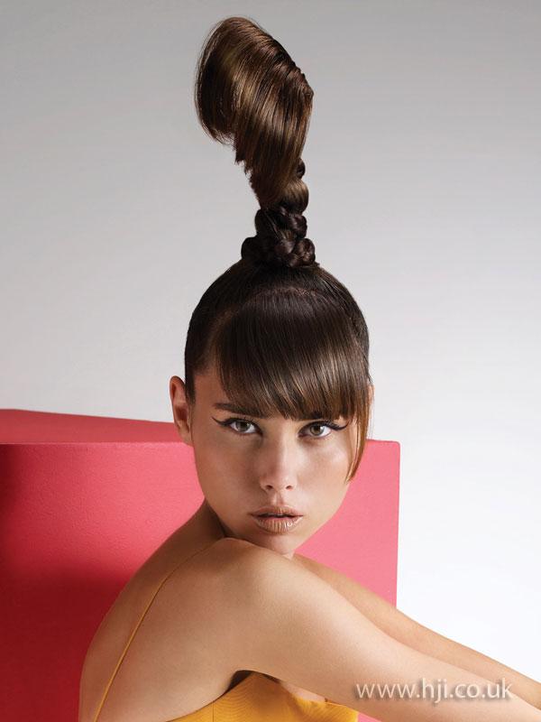 2009 ponytail updo hairstyle hji pmusecretfo Choice Image
