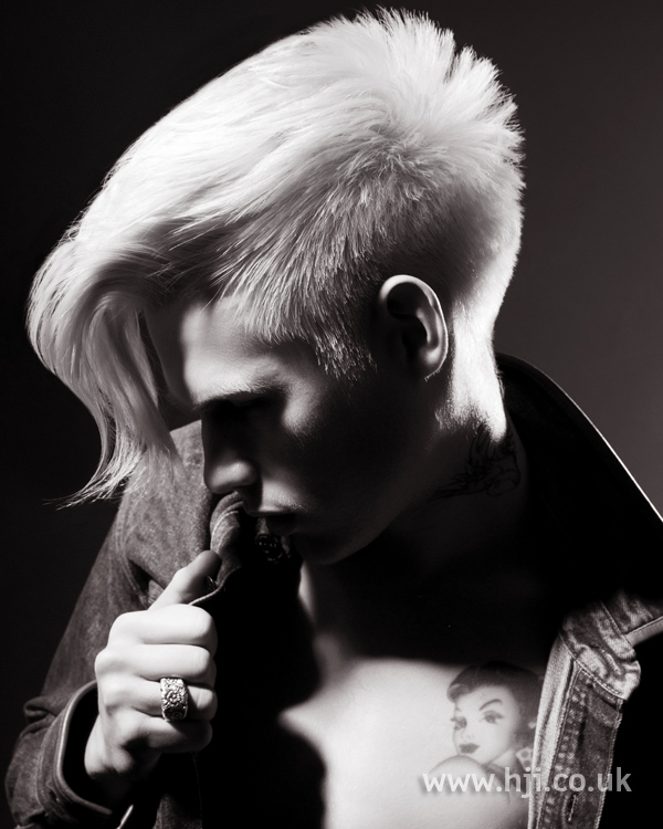 Jody Taylor Men's Hairdresser of the Year 2010 pic 1