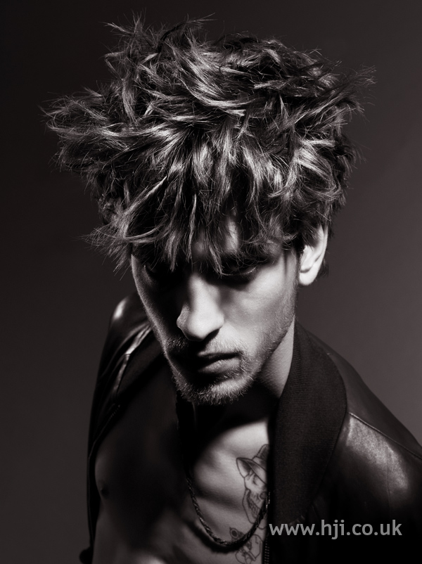 Jody Taylor Men's Hairdresser of the Year 2010 pic 4