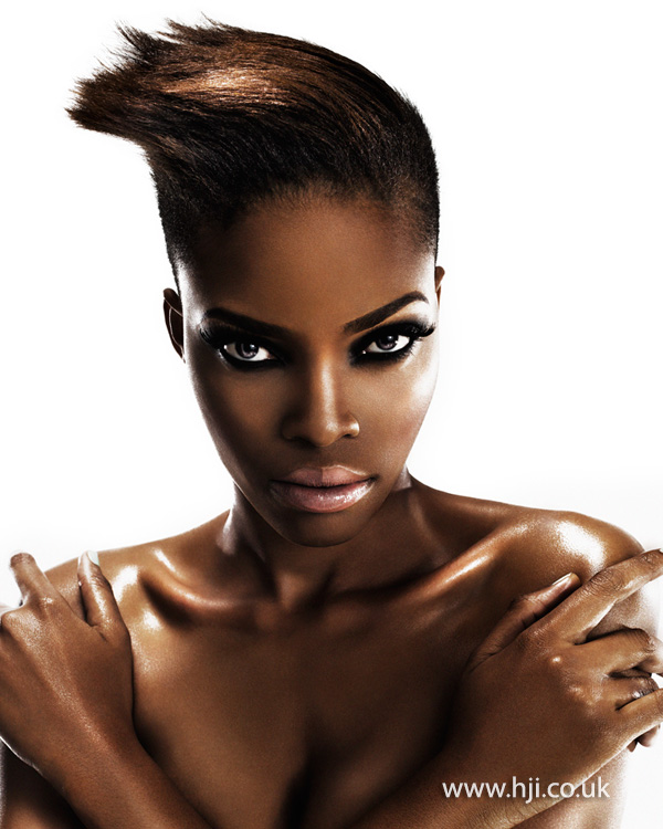 Charlotte Mensah Afro Hairdresser of the Year 2013