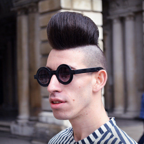 Short Back And Sides Combines With A Quiff For A