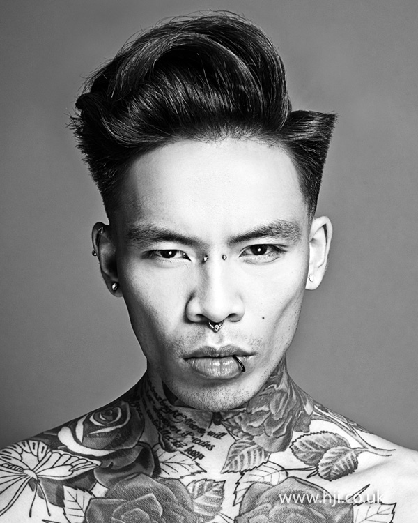 Kevin Luchmun Men's Hairdresser of the Year 2013 Collection Pic 6