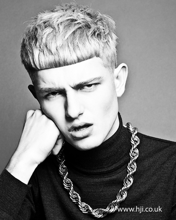 Kevin Luchmun Men's Hairdresser of the Year 2013 Collection Pic 7