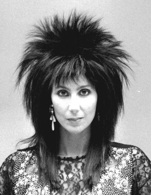 spiky haircuts for 1985 hairstyles for eight amazing cher hairstyles hji 4981