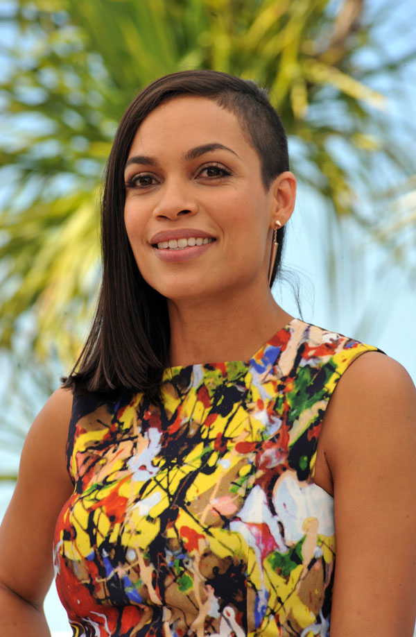 Rosario Dawson Takes It Off For Cannes