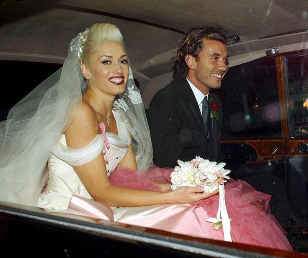 Most Memorable Wedding Hair: Gwen Stefani