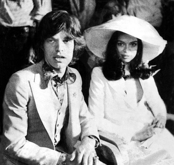 Most Memorable Wedding Hair: Bianca Jagger