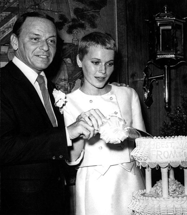 Most Memorable Wedding Hair: Mia Farrow