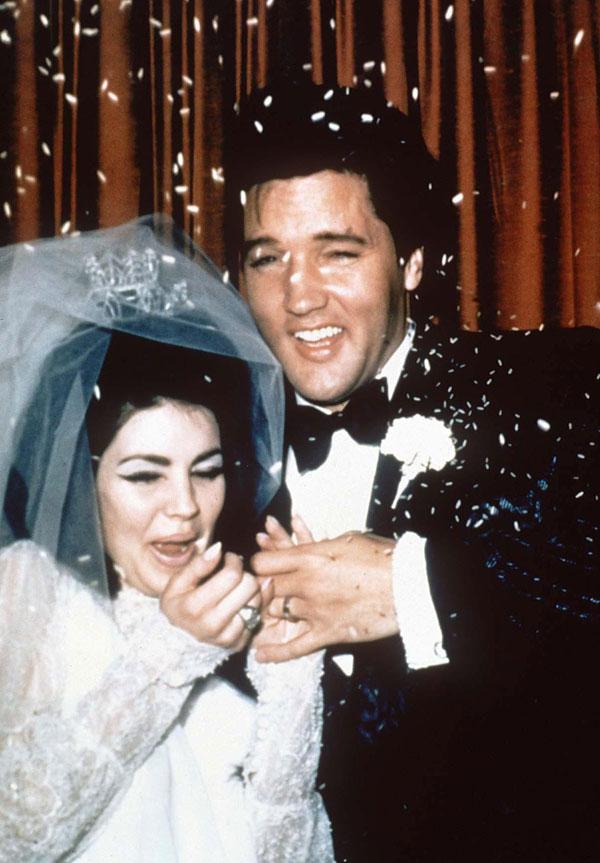 Most Memorable Wedding Hair: Priscilla Presley