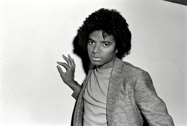 Looser curls in 1979 as Michael launched his solo career