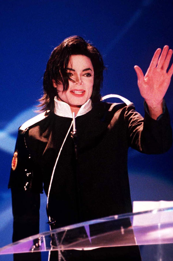 In later years, Michael opted for a smoother style with plenty of volume