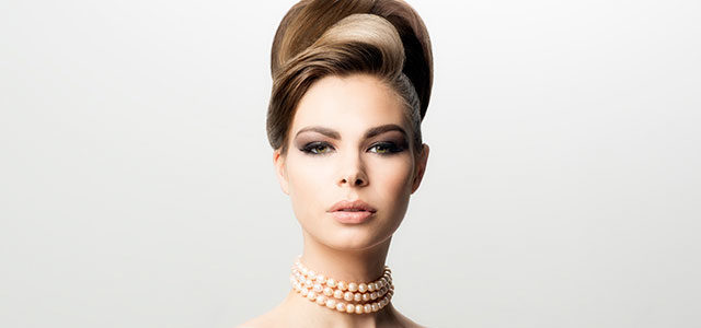 dc8adb699a7 Want to learn how to achieve a classically elegant Audrey Hepburn updo,  inspired by that scene in Breakfast at Tiffany's? In this tutorial by  acclaimed ...