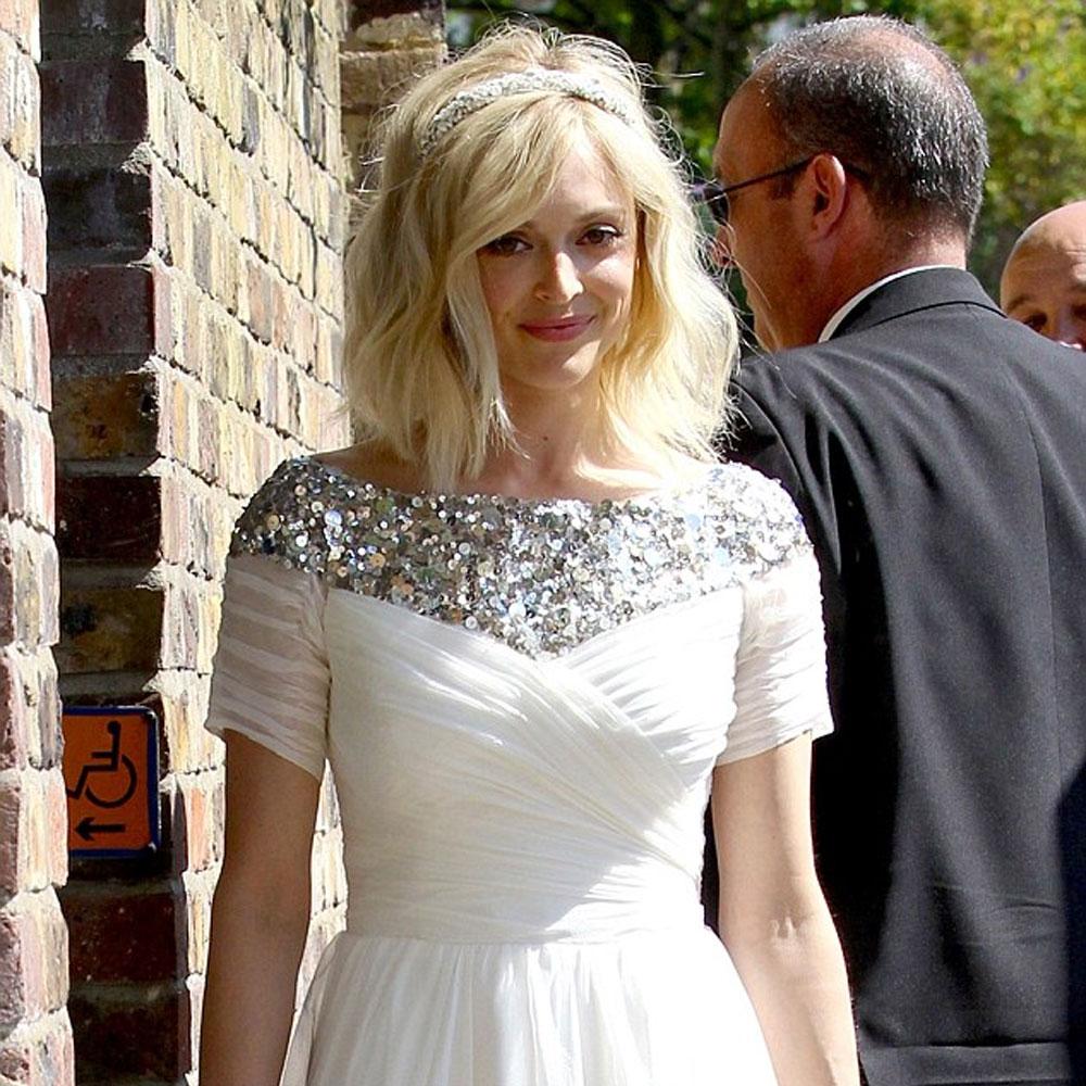 Fearne Cotton\'s Boho Bridal Look - HJI