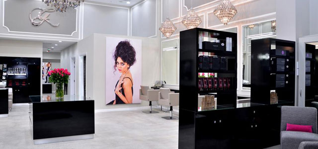 glamour hair salon interiors inspiration hji. Black Bedroom Furniture Sets. Home Design Ideas
