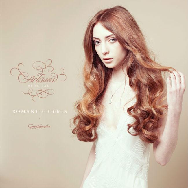 Bridal Hair Tutorial: Big Romantic Curls