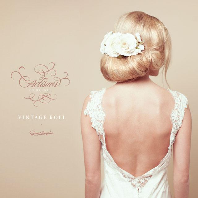 Bridal Hair Tutorial Vintage Hair Roll With Accessory Hji