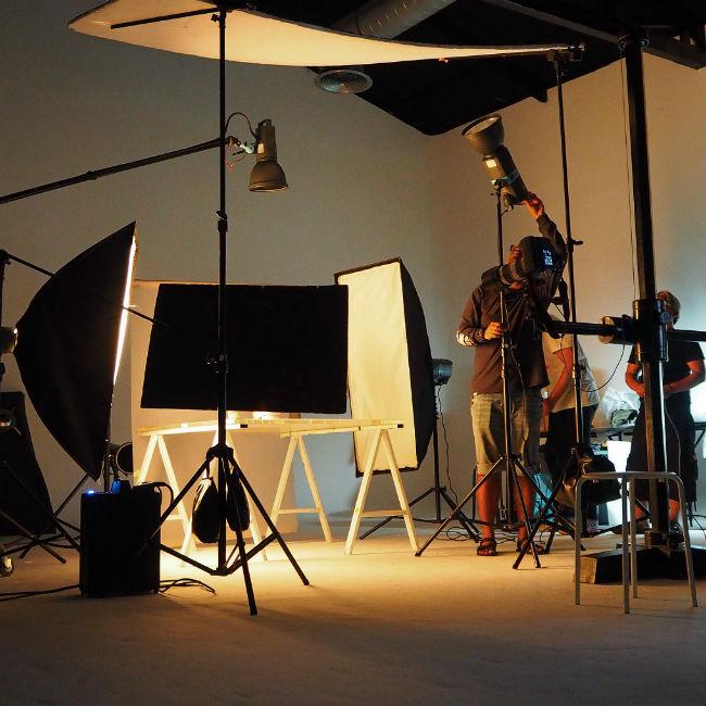How do do a photoshoot