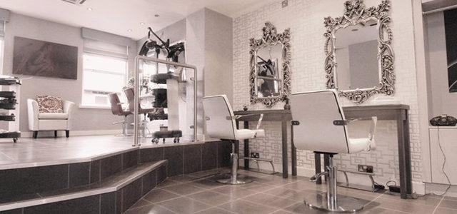 Interiors inspiration the red angel hair company hji for Hair salon companies