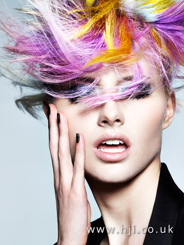 Midlands Hairdresser of the Year Finalist Collection