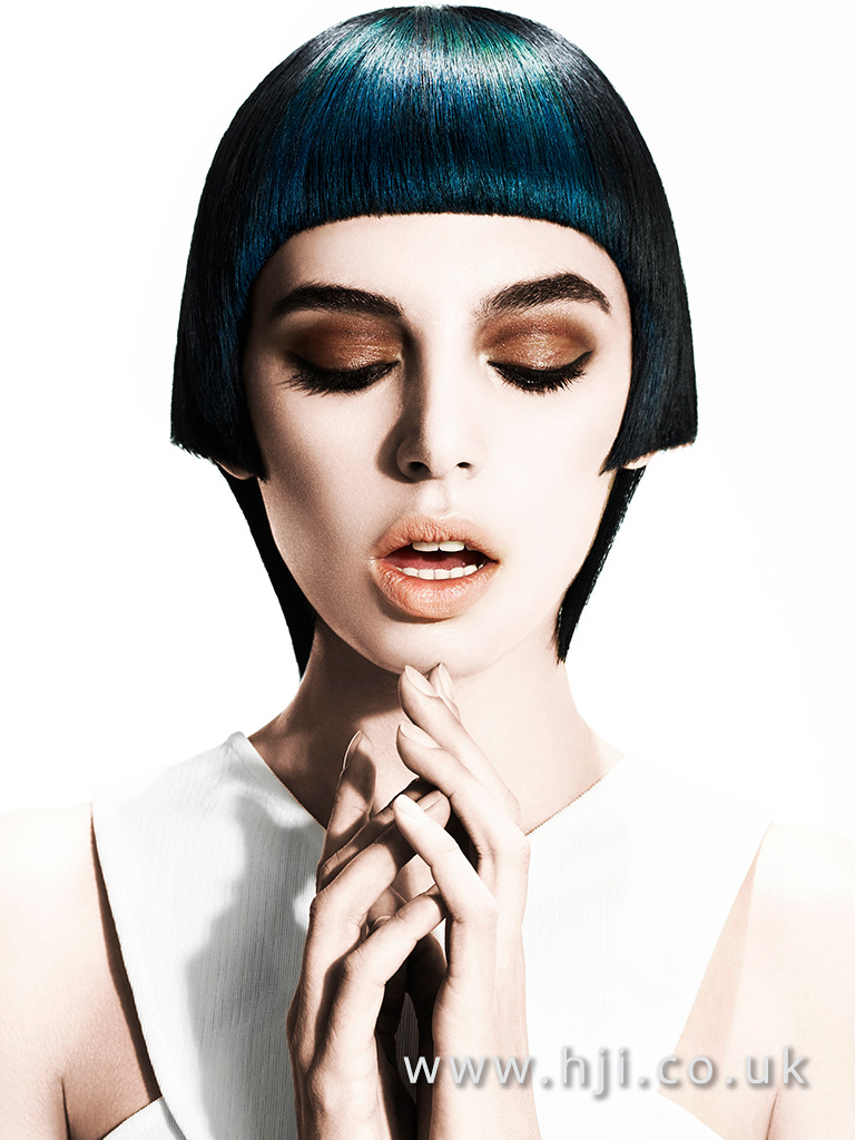 Suzie McGill and Dylan Brittain Scottish Hairdresser of the Year 2016 Collection Pic 1