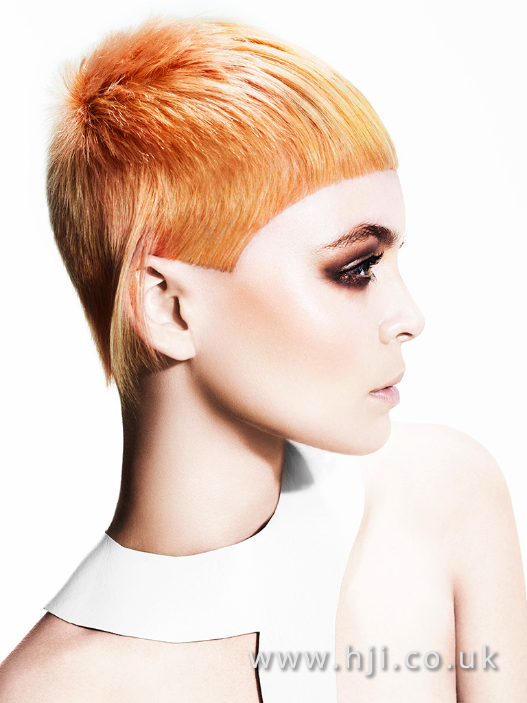 Suzie McGill and Dylan Brittain Scottish Hairdresser of the Year 2016 Collection Pic 2