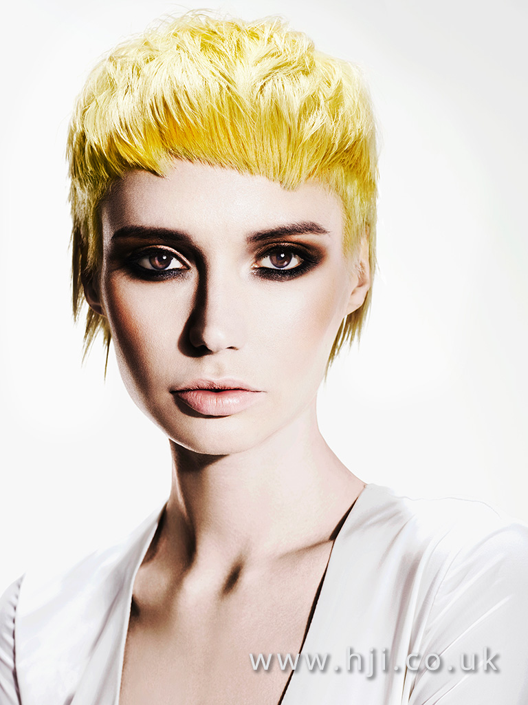 Suzie McGill and Dylan Brittain Scottish Hairdresser of the Year 2016 Collection Pic 3
